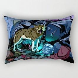 WOLF HOUSE Rectangular Pillow