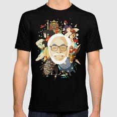 Miyazaki-San Mens Fitted Tee Black MEDIUM