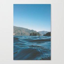 Lake Whatcom Canvas Print
