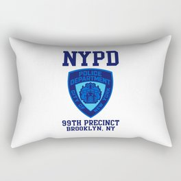 99TH PRECINCT BROOKLYN NEW YORK Rectangular Pillow