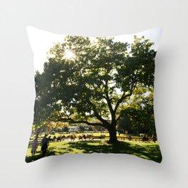 Stadtpark Throw Pillow