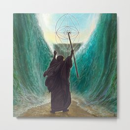 THE CROSSING OF THE RED SEA Metal Print