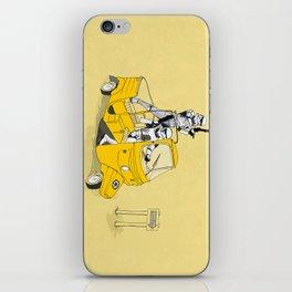 Storm Trooper Tuk Tuk iPhone Skin