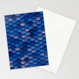 Blue Penny Scales Stationery Cards