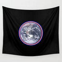 earth Wall Tapestries featuring Earth by Spooky Dooky