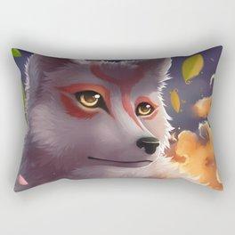 Okami - heaven's illumination Rectangular Pillow