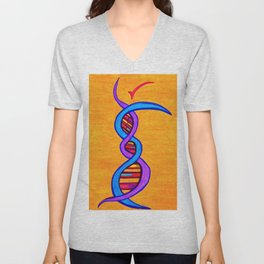 DNA Dancer Unisex V-Neck