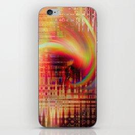 Cyclonic iPhone Skin