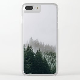 Into the Wild XV / Oregon Clear iPhone Case