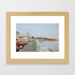 Dallas Road Framed Art Print