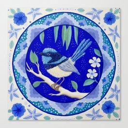 Blue Wren Beauty Canvas Print