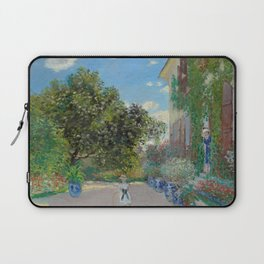 "Claude Monet ""The Artist's House at Argenteuil"" Laptop Sleeve"