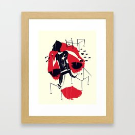 Obstacles Framed Art Print