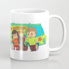 Sleuth Couple and Dog Coffee Mug