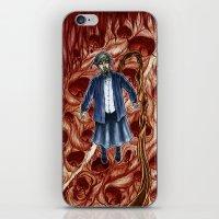 sandra dieckmann iPhone & iPod Skins featuring Sandra by Robert Elrod