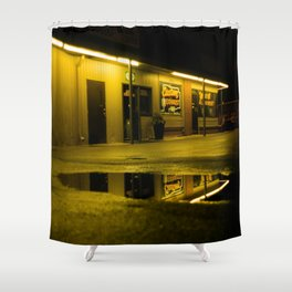 Custom Exhaust Shower Curtain