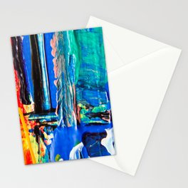 abstract 3 Stationery Cards