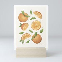 Oranges Light Version Mini Art Print
