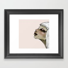 kiss kiss Framed Art Print