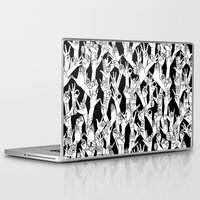 hands Laptop & iPad Skins featuring Hands by shutupbek