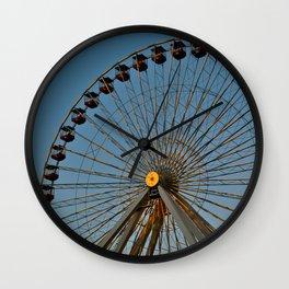 Ferris Wheel - Chicago Wall Clock