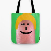 charmaine olivia Tote Bags featuring Olivia by Panic Junkie