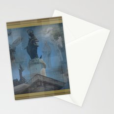Rome Statues 2 Stationery Cards