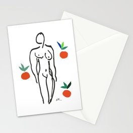 Henri Matisse Nude With Oranges 1951 Artwork for Wall Art, Prints, Posters, Tshirts, Men, Women, Youth Stationery Cards