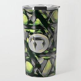 Chai Mandala - Green Travel Mug