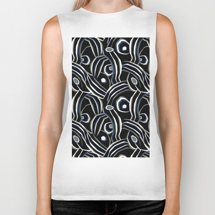 Abstract African pattern. Biker Tank