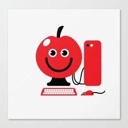 Fruity Computing Canvas Print