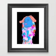 Floating Hostility Framed Art Print