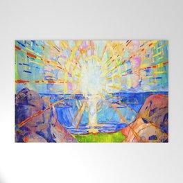 Edvard Munch The Sun Welcome Mat