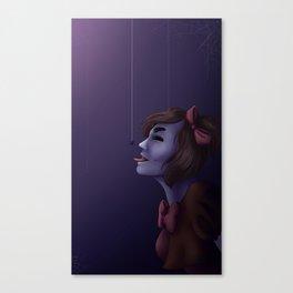 Miss Muffet Canvas Print