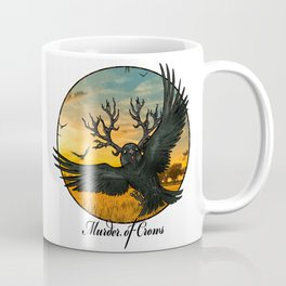 Malphas Halphas and the Murder of Crows Coffee Mug