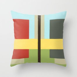 Geo Two Throw Pillow