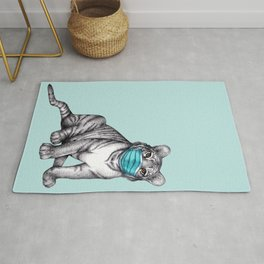 Fierce Compassion & Considerate Compliance  Rug