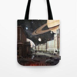 Ring of Saturn Tote Bag
