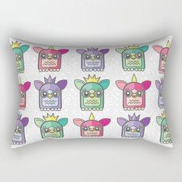 Nineties Furby Pattern  Rectangular Pillow