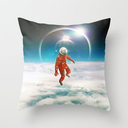 Floater Throw Pillow