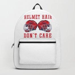 Helmet Hair Don't Care Backpack