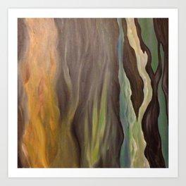 Beachwoods Art Print