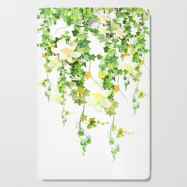 Watercolor Ivy Cutting Board