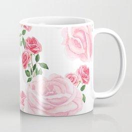pink rose patterns Coffee Mug