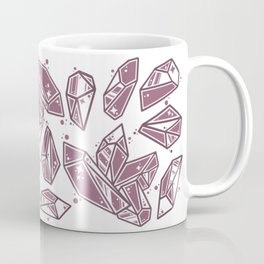 Pink Crystals Coffee Mug