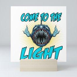 Come To The Light Mini Art Print
