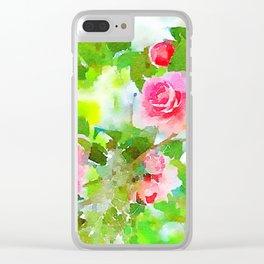aprilshowers-15 Clear iPhone Case