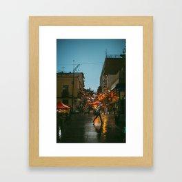 Little China — CDMX Framed Art Print