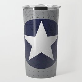 U.S. Military Aviation Star National Roundel Insignia Travel Mug
