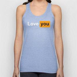 Love you Unisex Tank Top